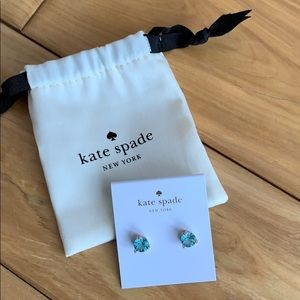 Kate Spade Aquamarine Stud Earrings